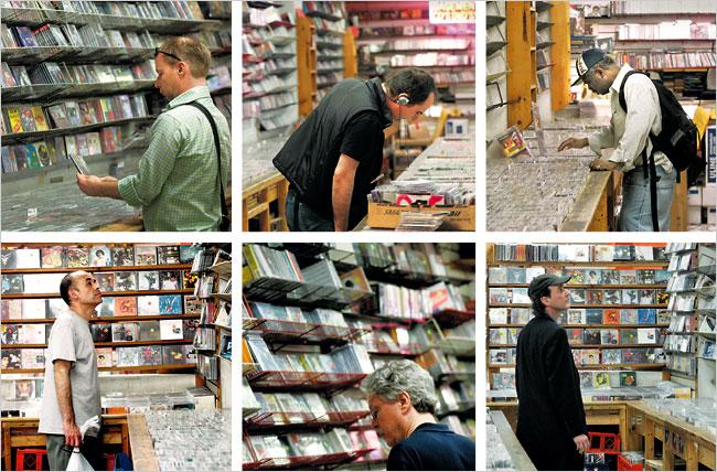 music shops: