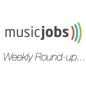 Music Jobs Weekly Round-up square logo new 2012