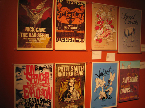 Promoter gig posters flickr music jobs