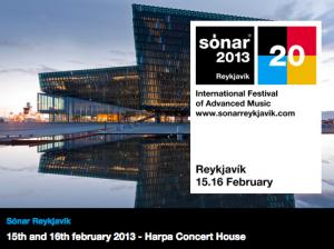 sonar reykjavik 2013